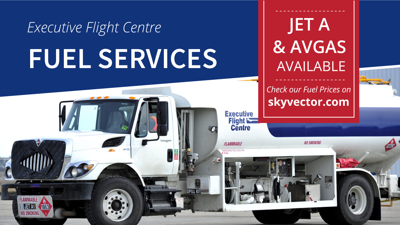 Aviation Fuel Now Available In Kamloops Executive Flight