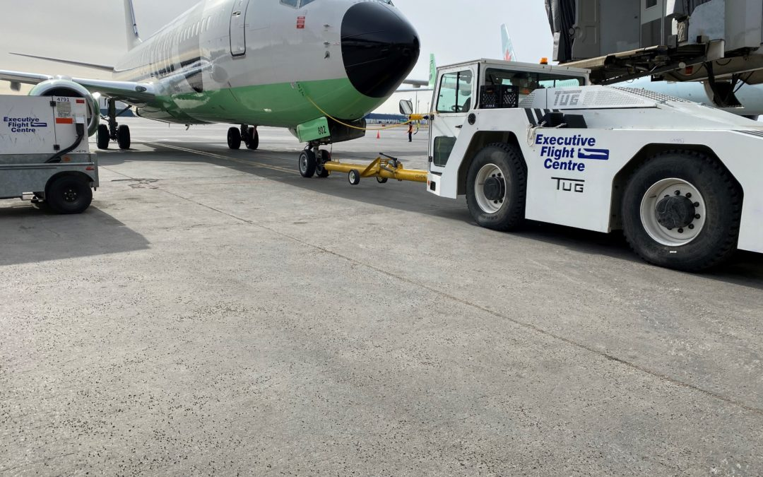 Flair Airlines Chooses EFC to be its Above and Below Wing Handler in YEG and YYC!